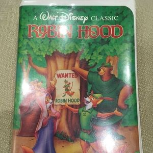 Walt Disney's Robin Hood Vintage VHS